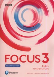 Focus Second Edition 3 Teacher's Book + 4CD i DVD, Reilly Patricia, Tkacz Arek, Grodzicka Anna